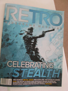 BRAND NEW - RETRO Videogame Magazine