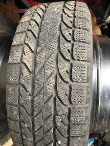 195 55 R15 Winter Tires - BF Goodrich Winter Slalom with rims