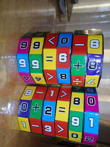 Kids Mathematics Numbers Magic Cube Toy  $7 each or $10 Both