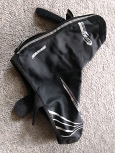 BBB cycling overshoes, size 43/44