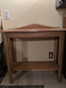 Handmade Front Hall Table