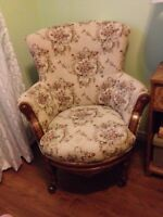Antique Set of Accent Chairs
