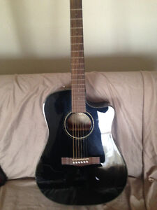 (OBO) Fender Acoustic/Electric CD-60CE