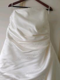Ellis bridal wedding dress size 22