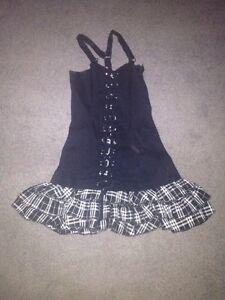 Black Corset Dress Windsor Region Ontario image 1