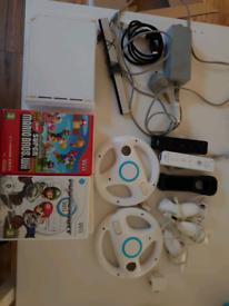 Nintendo Wii bundle with Mario Kart