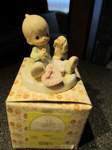Sharing Sweet Moments Together- Precious Moments figurine.