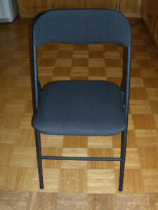 four folding card table chairs