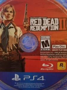 Red dead redemption /ps4/playstation