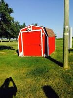 Excellent quality solid barn style shed