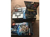 Lego dimensions for Xbox 360 plus two extra packs