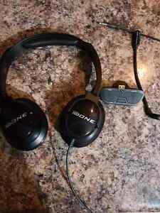Xbox one head set or you can use for listening to music