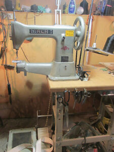 Mach 1industrial leather sewing machine