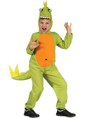Child Dinosaur Costume T Rex Boys Girls Kids Book Week Day Fancy Dress Age 3-10](Boys T Rex Costume)