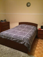 Bed For Sale (Mattress not included)