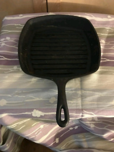 Cast iron fry pan