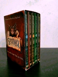 $20 Books of The Spiderwick Chronicles in box. Series Books 1-5