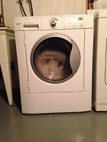 Kenmore white front load washing machine