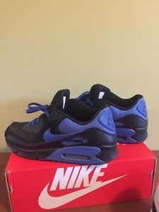 Nike AirMax 90 - black and blue size 12 West Island Greater Montréal image 1