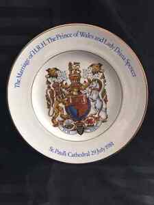 Royal Doulton Marriage of the prince of whales and lady diana Kitchener / Waterloo Kitchener Area image 1