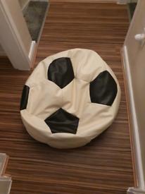 Football bean bag