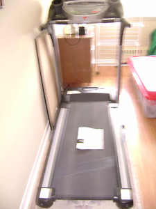 gently used treadmill 2 years old