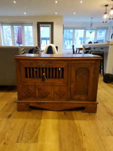 Teak TV and Home Entertainment Cabinet