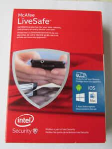 McAfee LiveSafe Software For Sale