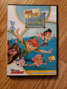 Jake and the Never Land Pirates DVDs.