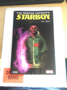 MARVEL STARBOY The Weeknd COMIC This is an ORIGINAL copy