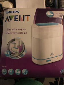 """Philips Avent Baby Bottle Steamer """"NEW"""" .....GREAT XMAS GIFT"""