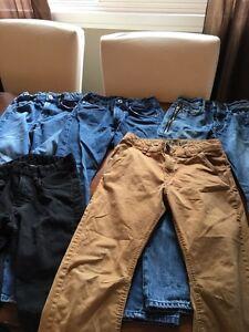 Boys pants size 9 through 12