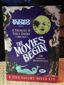 The Movies Begin - DVD Box Set of 5