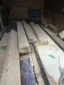 Concrete posts for sale 6 6ft long £45