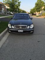 2003 mercedes E320 well maintained
