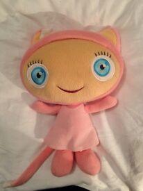 Pink waybuloo talking teddy