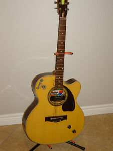 Acoustic/electric guitar and amp