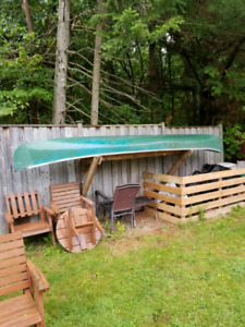 16' fiberglass canoe $420 delivery available