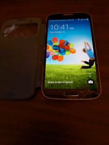 Galaxy S4 with Case