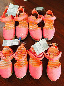 New! Carters shoes toddler size 6,8 and 9