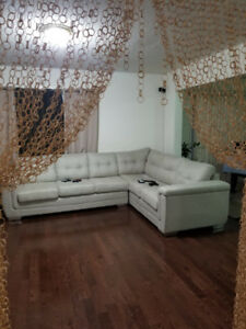 Brand New Custom Made Sectional (Sofa by Fancy collection)