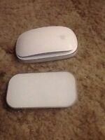 Apple Magic Mouse and charge pad