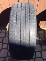 One 235/55/R18 AllSeason Michelin Latitude Tour -Lots-TreadLeft