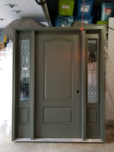 "36"" New Fiberglass Entry Door"
