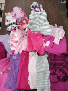 4T Girls Winter clothing lot