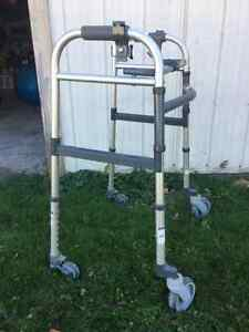 lightweight aluminum walker for sale