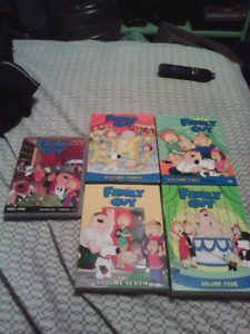Faimly Guy trade for blu rays or Simpson boxsets