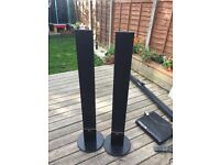 2 LG Front speakers