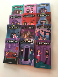 Livres jeunesse Ma sœur est un vampire (12 volumes)