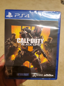 Call of Duty Black Ops 4 - Sealed PS4